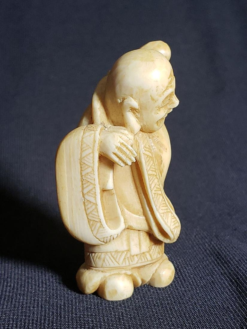 Antique Japanese Buddha 19th Century - 3