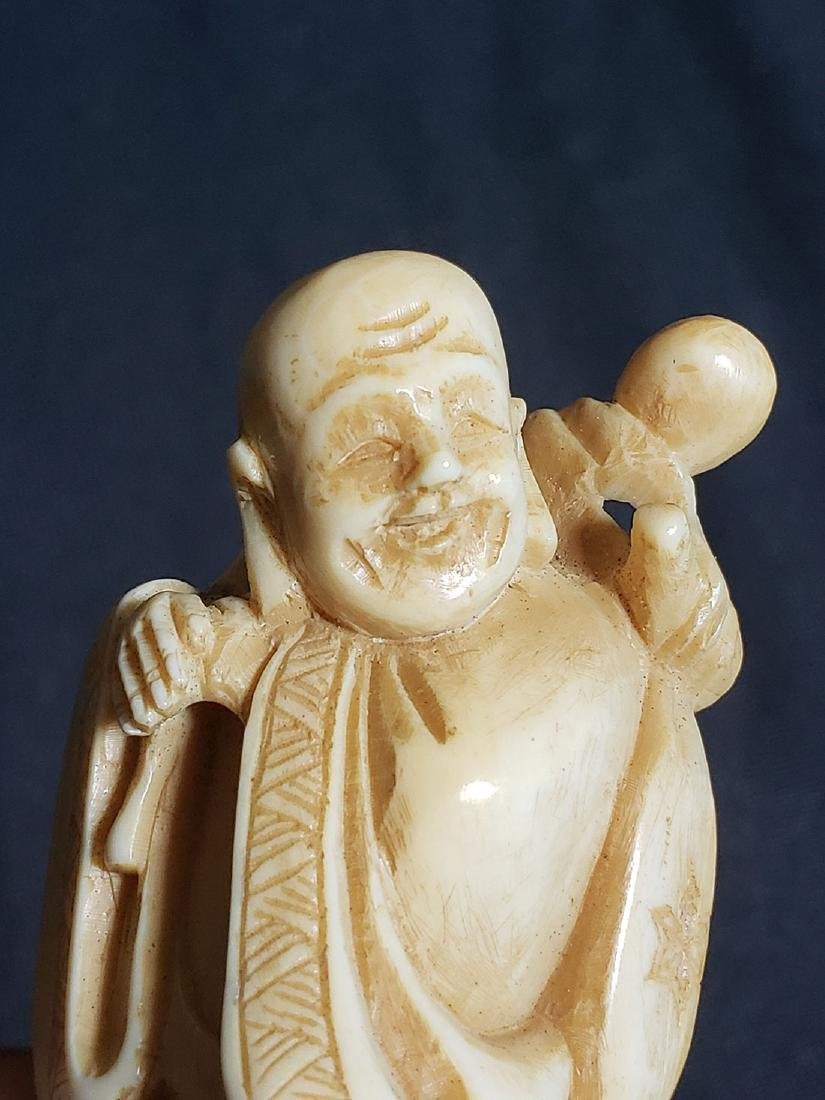 Antique Japanese Buddha 19th Century - 6