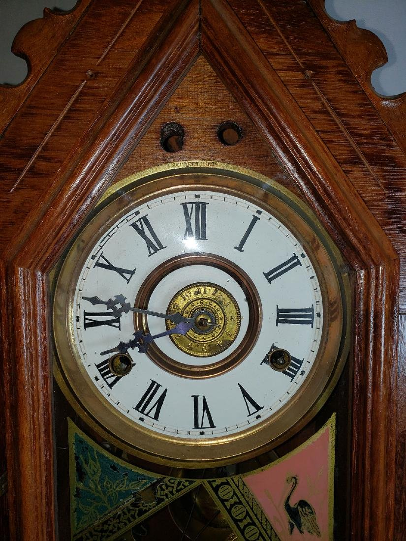 Antique New Haven Clock Co Mantel Clock - 2