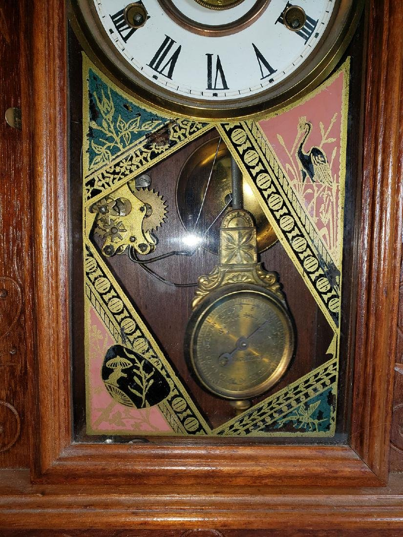 Antique New Haven Clock Co Mantel Clock - 3
