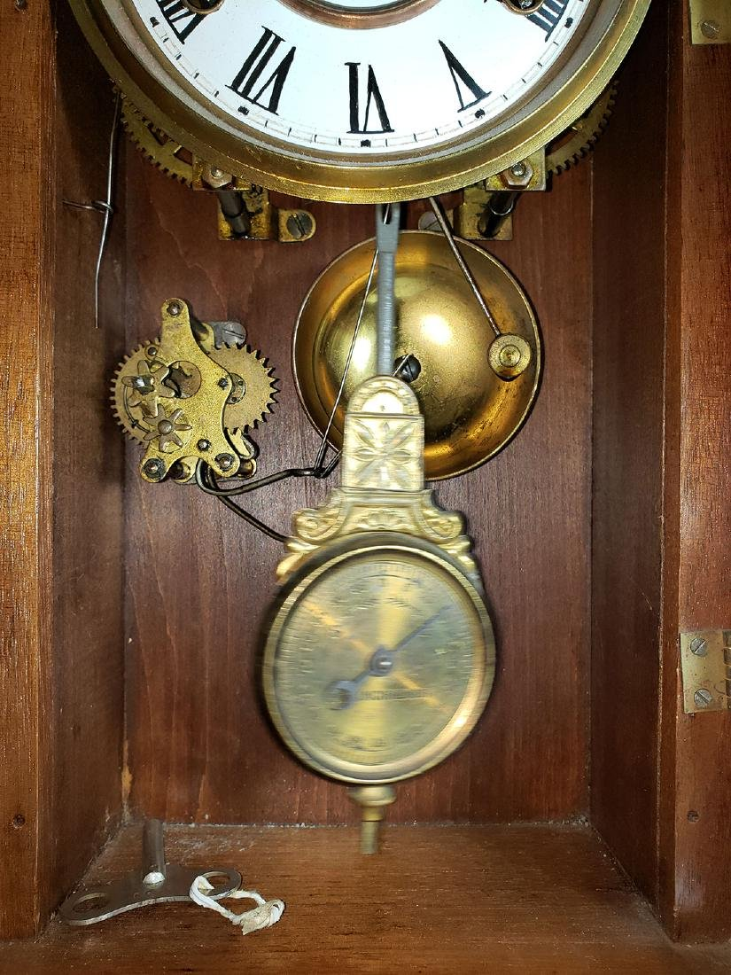 Antique New Haven Clock Co Mantel Clock - 7