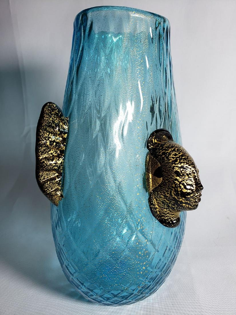 Silvano Signoretto  Murano Art Glass Vase - 3