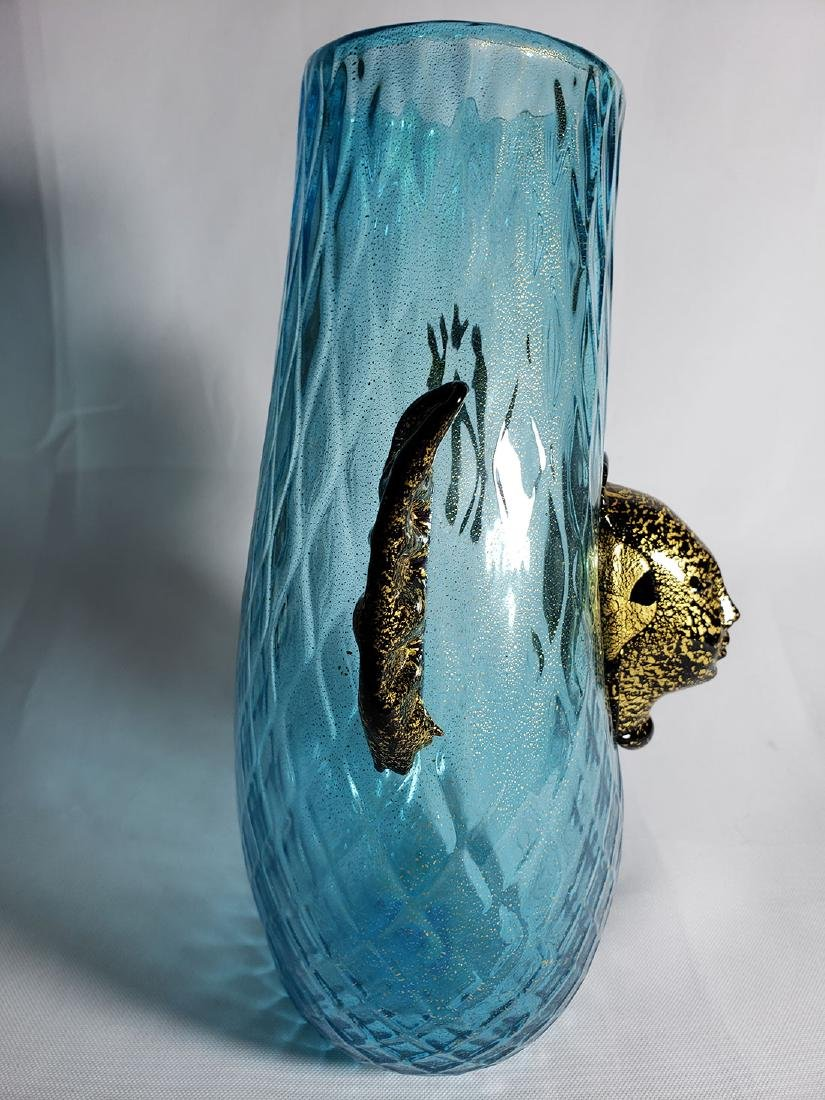 Silvano Signoretto  Murano Art Glass Vase - 6