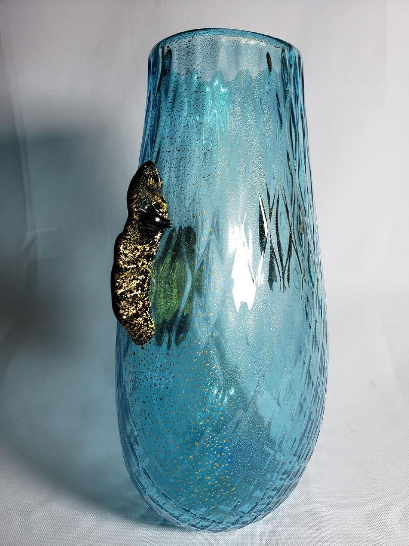 Silvano Signoretto  Murano Art Glass Vase - 8