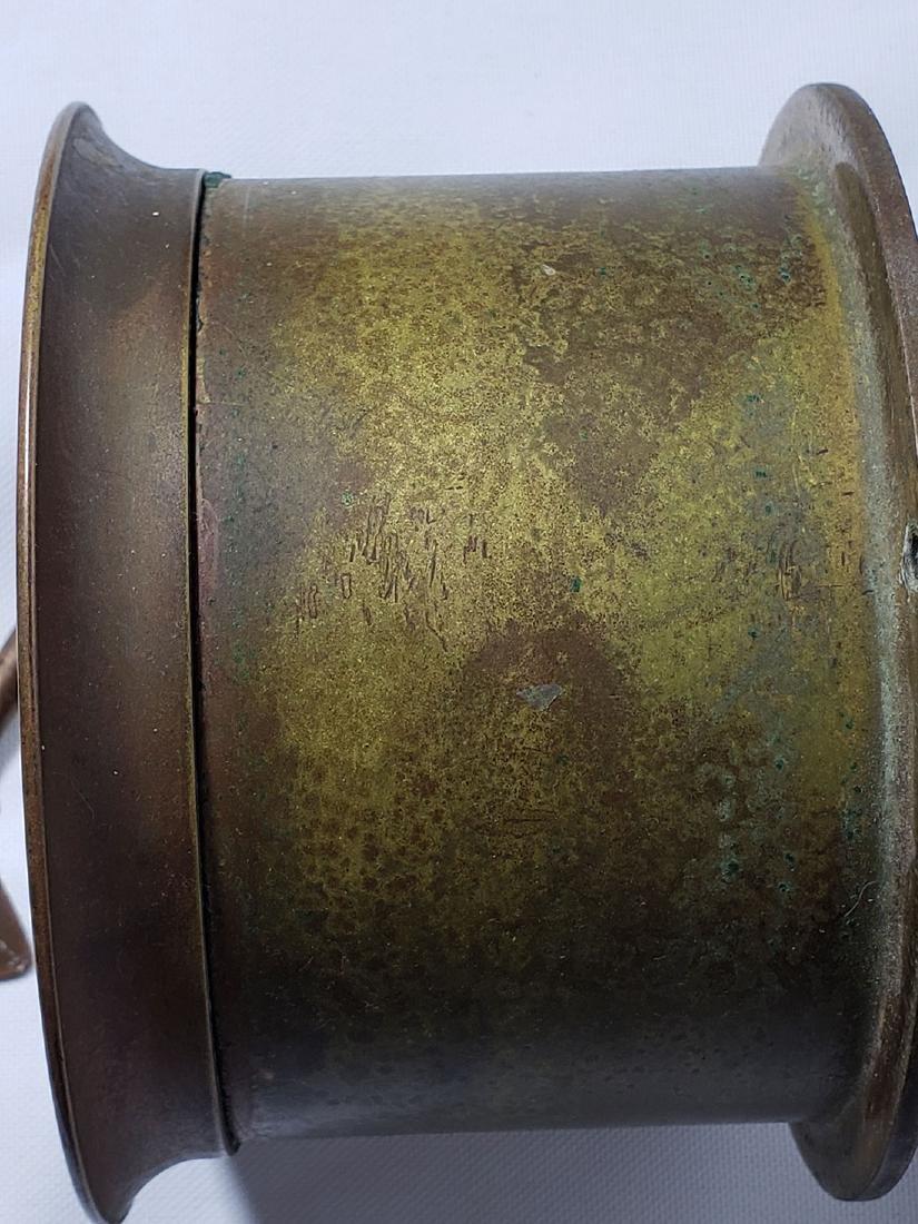 Vintage Chelsea Ship's Bell Clock Serial # 565859 Runs - 4