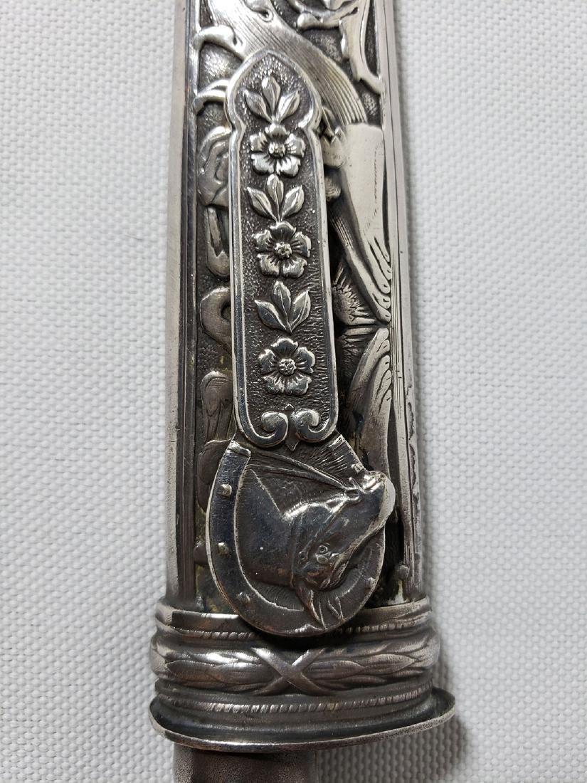 A fine decorative sterling silver letter opener 1900-30 - 2