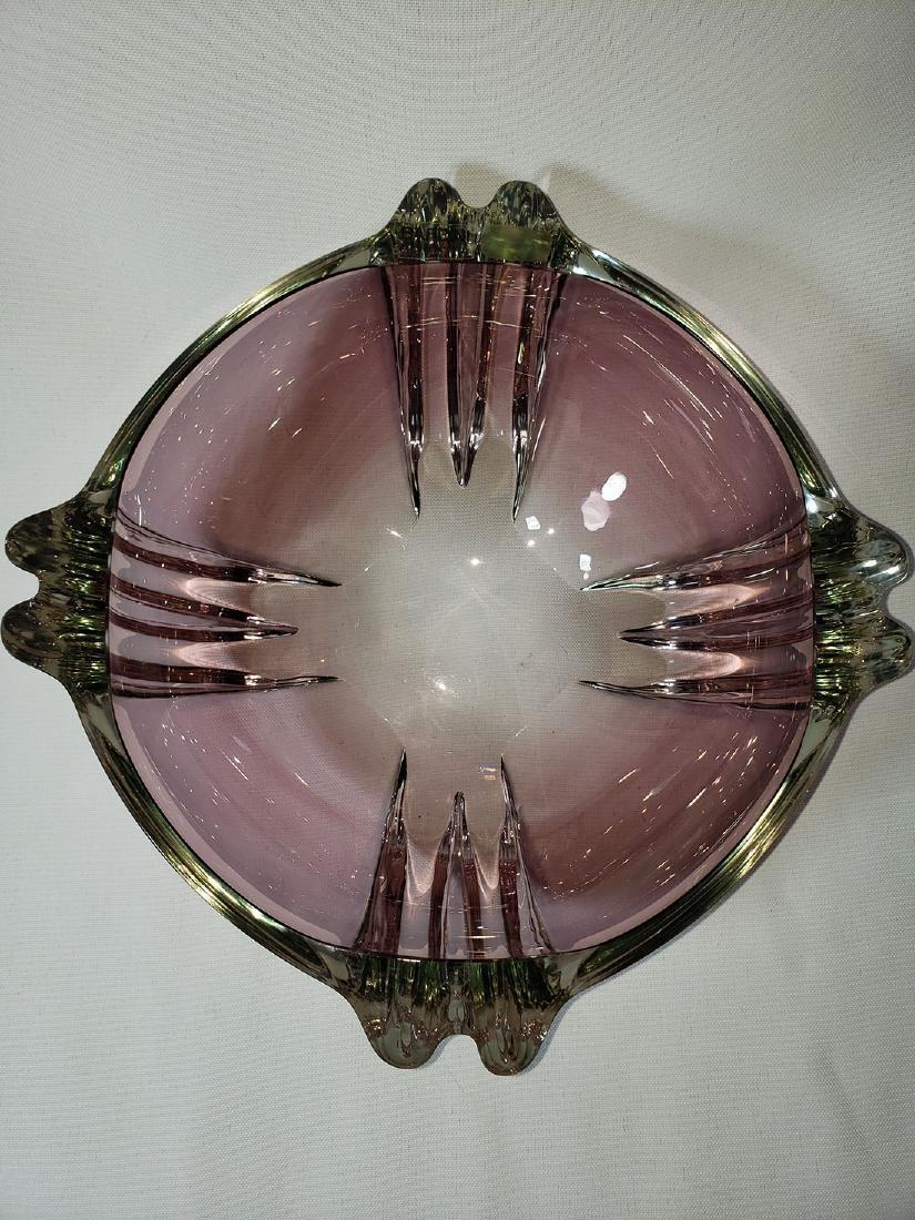 Signed Barbini Murano art glass bowl for Oggeti - 3