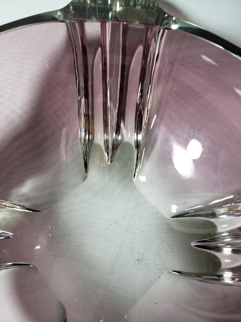 Signed Barbini Murano art glass bowl for Oggeti - 5