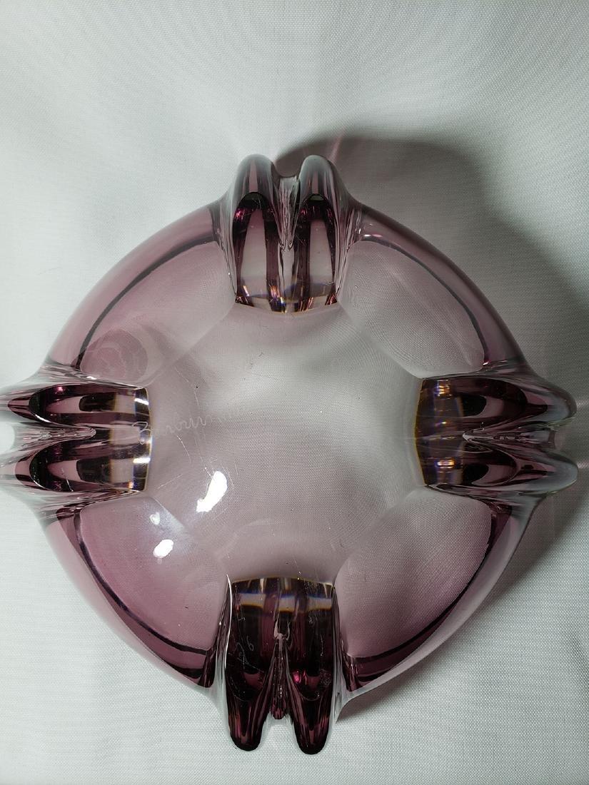 Signed Barbini Murano art glass bowl for Oggeti - 7