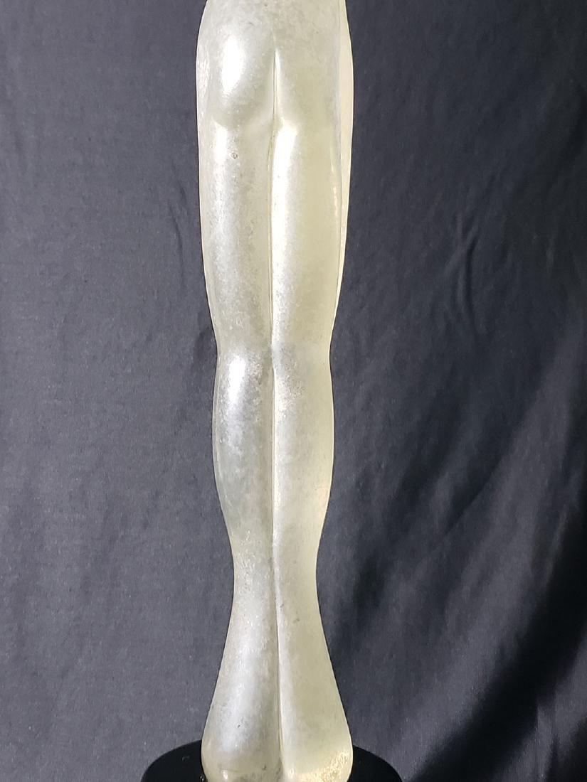 Signed Murano art glass nude sculpture Vitreia Maestri - 10