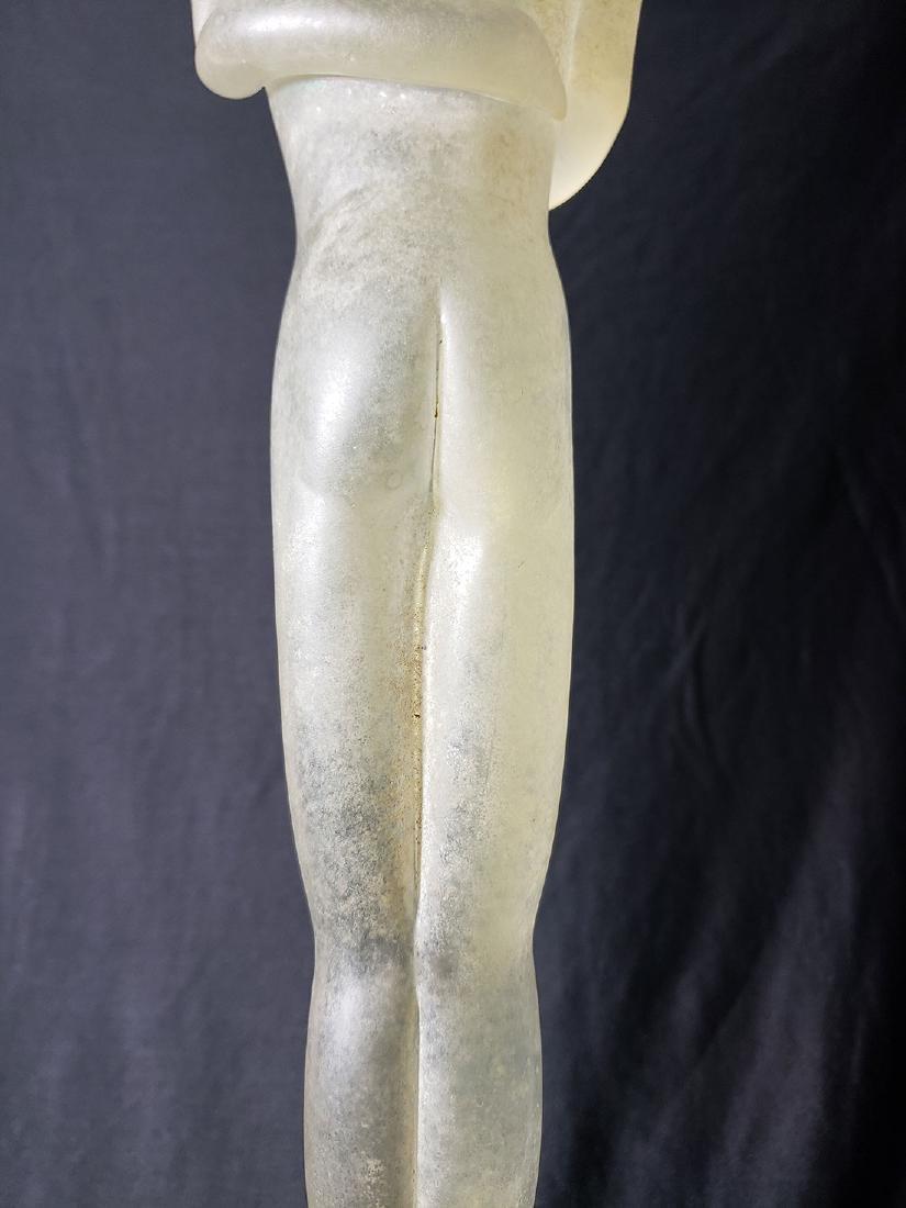 Signed Murano art glass nude sculpture Vitreia Maestri - 4