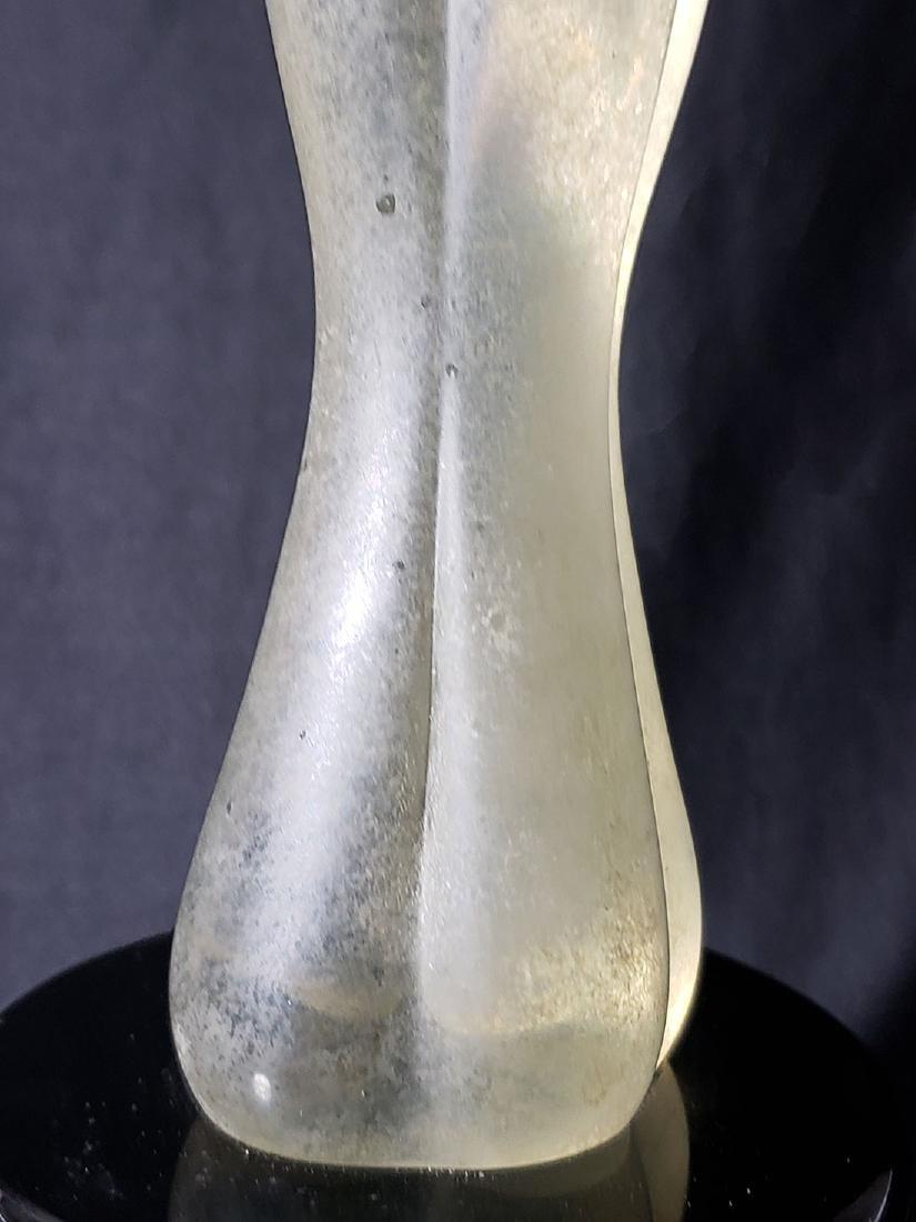 Signed Murano art glass nude sculpture Vitreia Maestri - 7