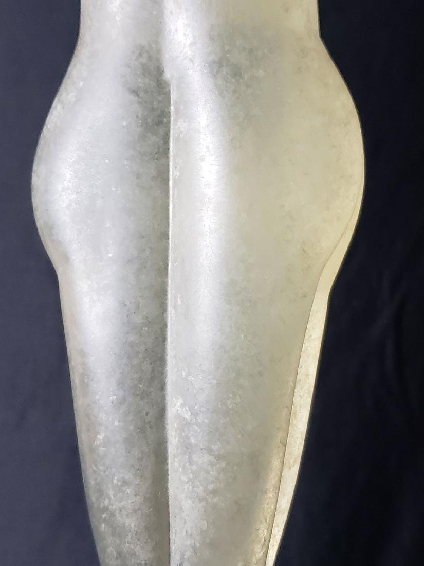 Signed Murano art glass nude sculpture Vitreia Maestri - 8