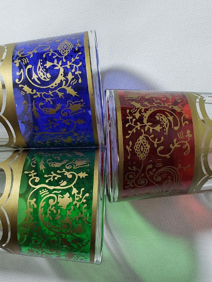 Set of 6 Bohemian double shot glasses - 5