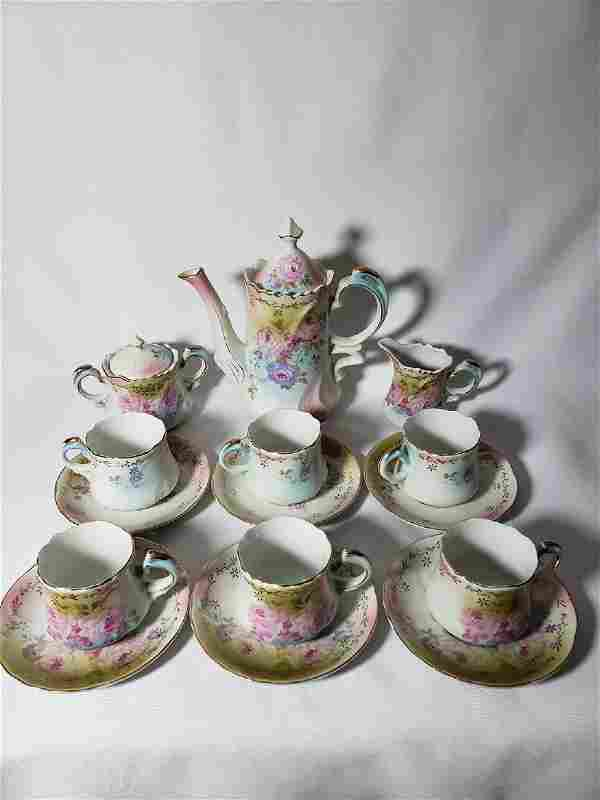 Finely painted Nippon Chocolate set
