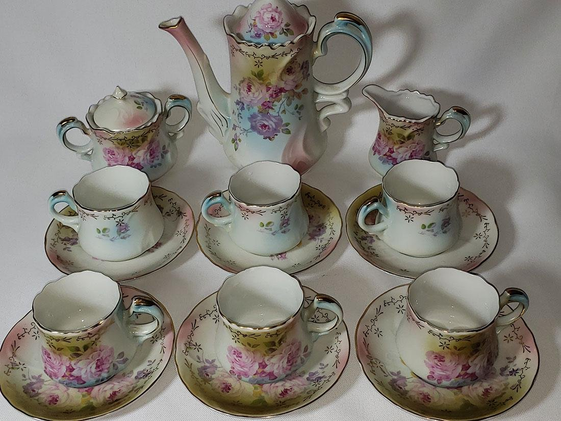 Finely painted Nippon Chocolate set - 6