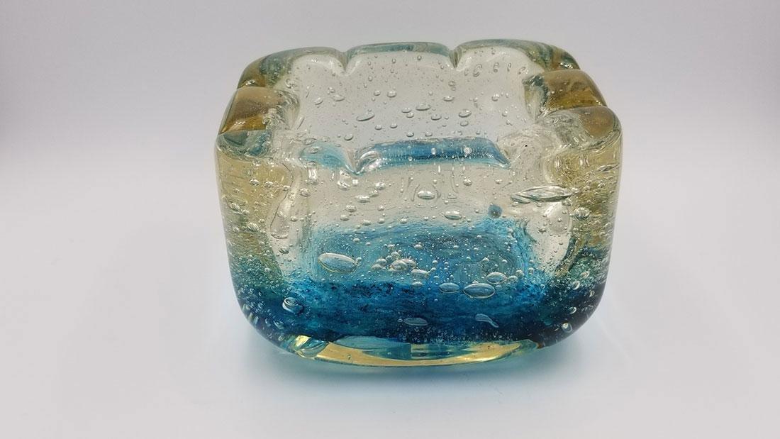 Art Deco Art Glass Charles Schneider France Signed Bowl