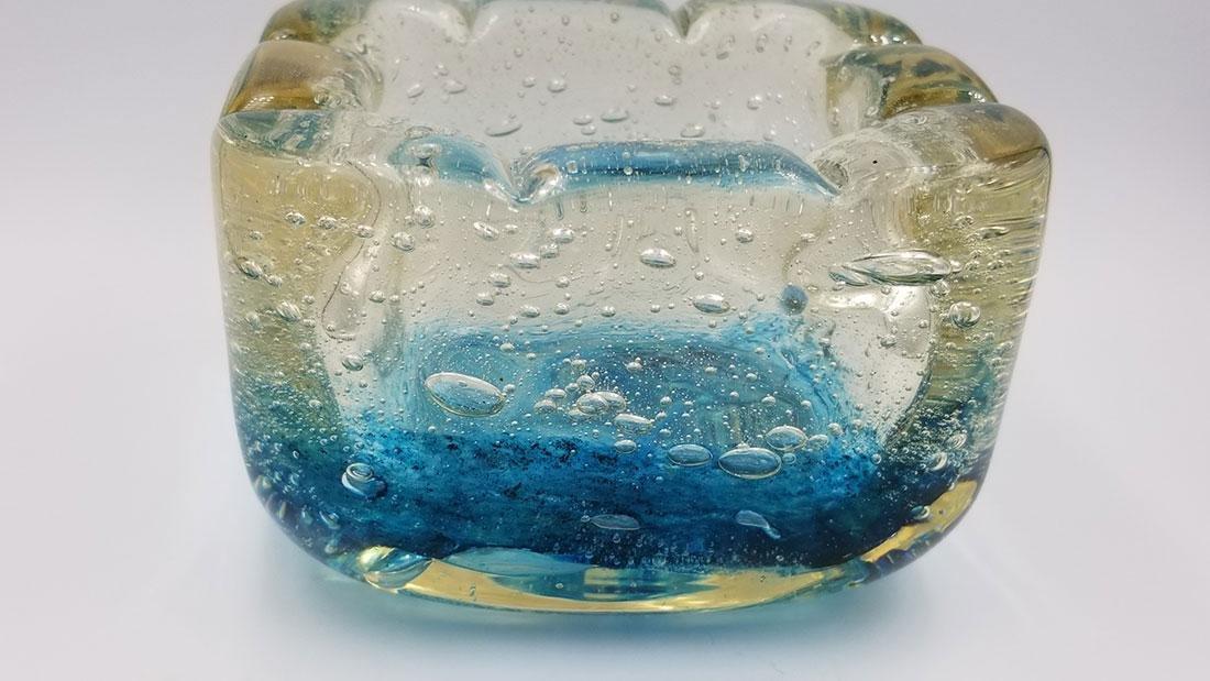 Art Deco Art Glass Charles Schneider France Signed Bowl - 2