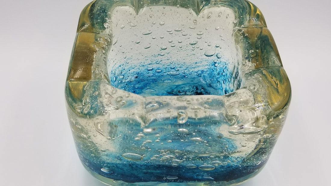 Art Deco Art Glass Charles Schneider France Signed Bowl - 3