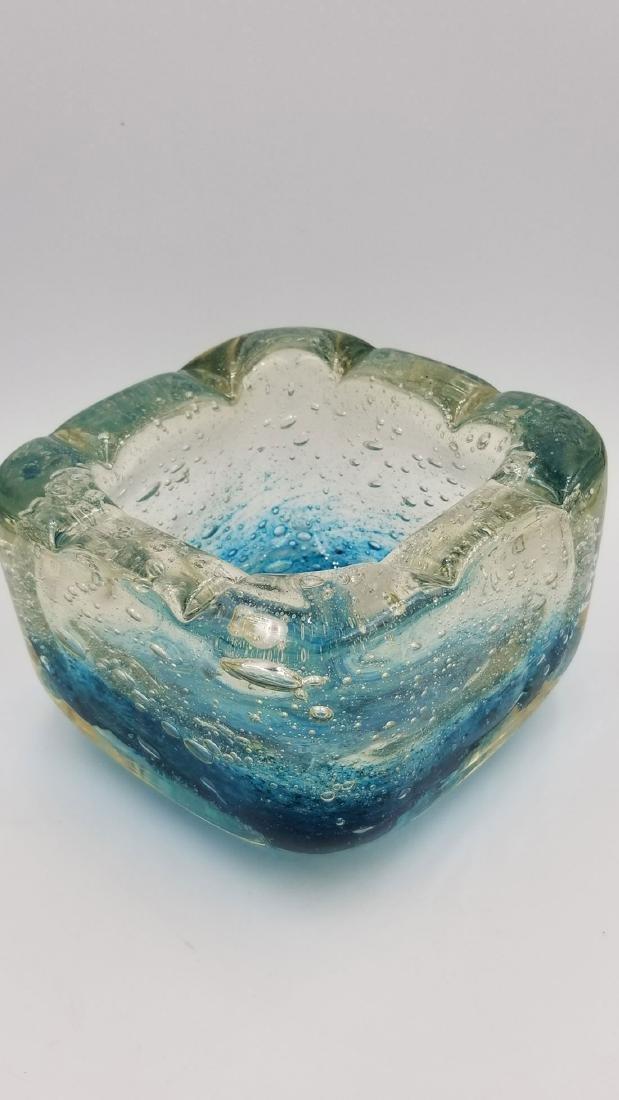 Art Deco Art Glass Charles Schneider France Signed Bowl - 4