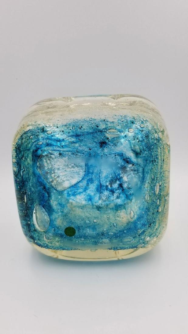 Art Deco Art Glass Charles Schneider France Signed Bowl - 6