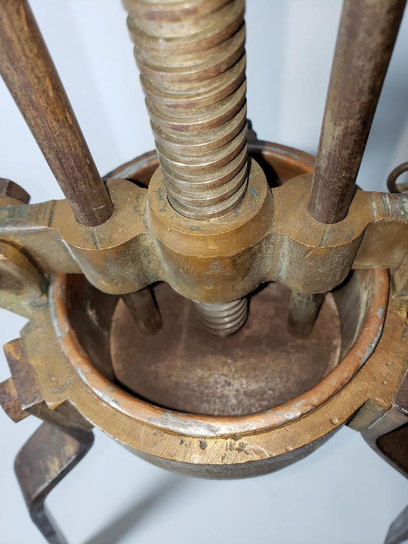 19th c lobster press duck press - 10