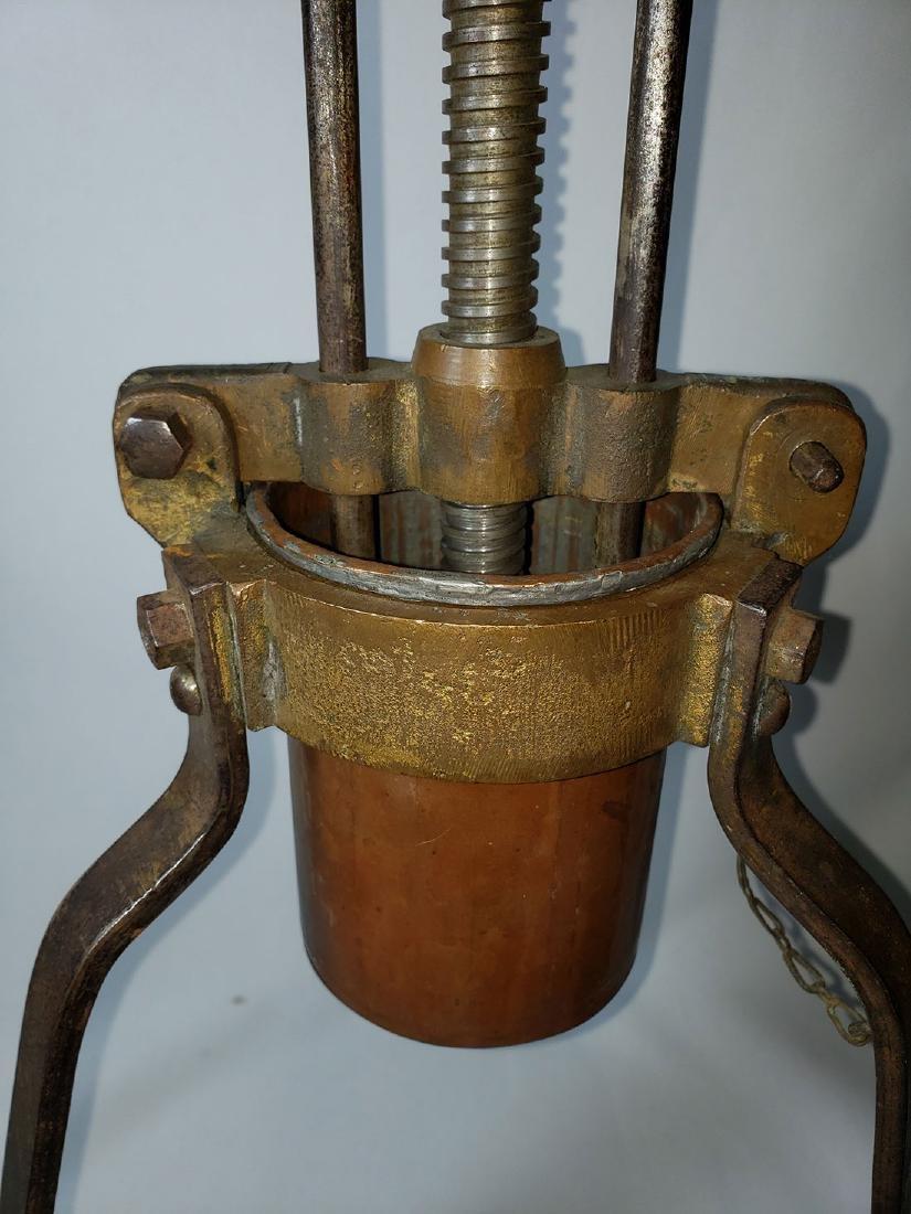 19th c lobster press duck press - 2