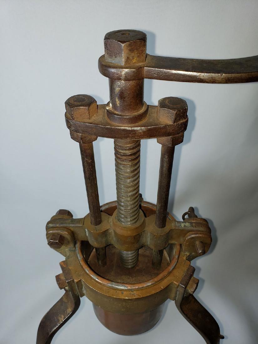 19th c lobster press duck press - 3