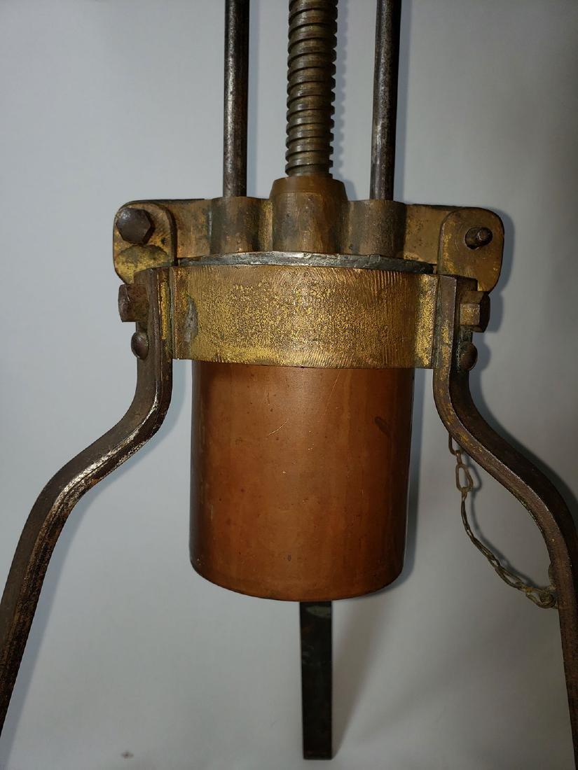 19th c lobster press duck press - 6