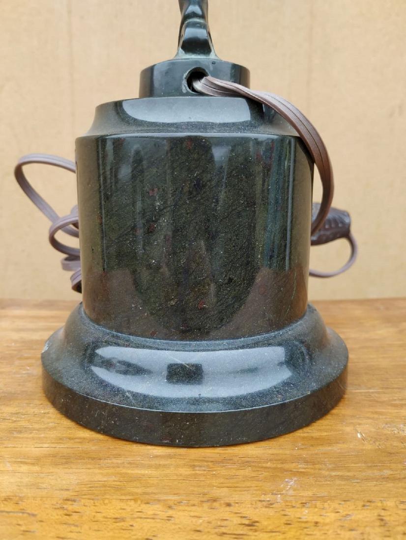 A Fine Art Deco Bronze Figural Lamp 1920 - 9