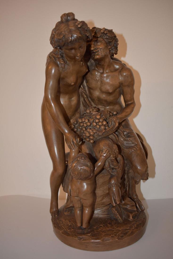 Calude Michael Cledion (1734–1814) Terra Cotta 1880