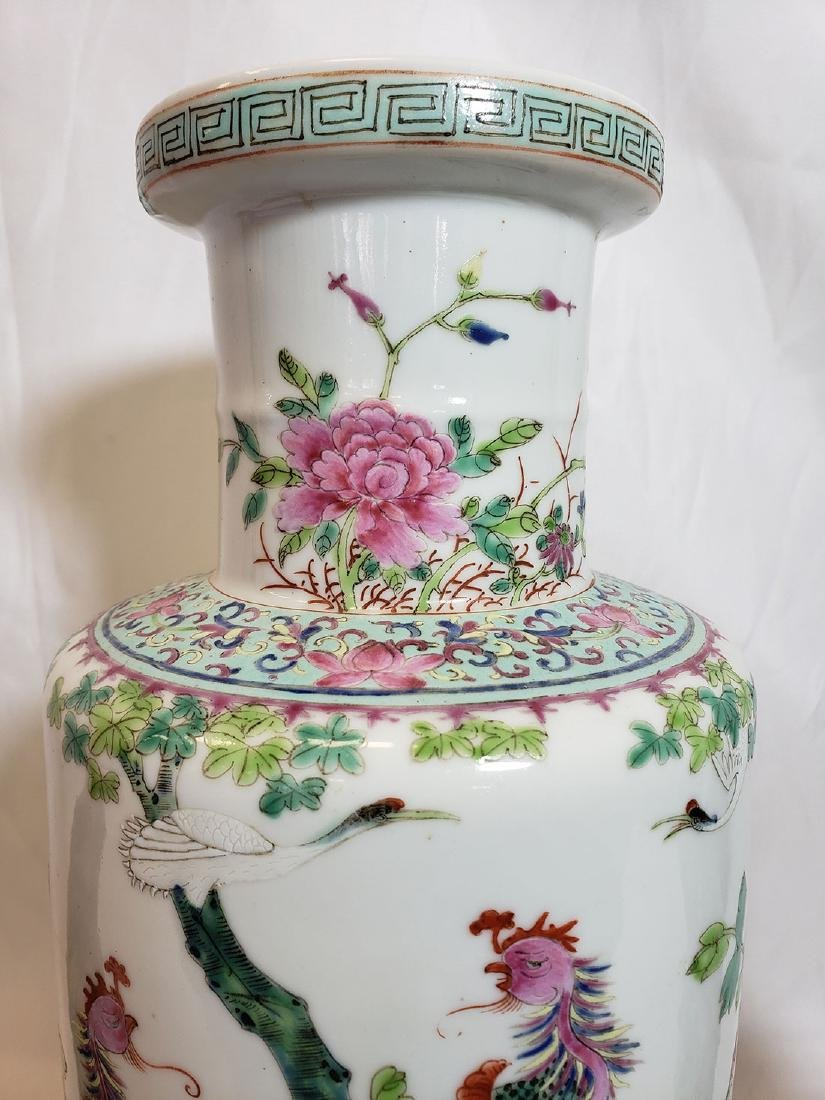 Lot of Chinese porcelain vase and export birds w/ Mark - 3