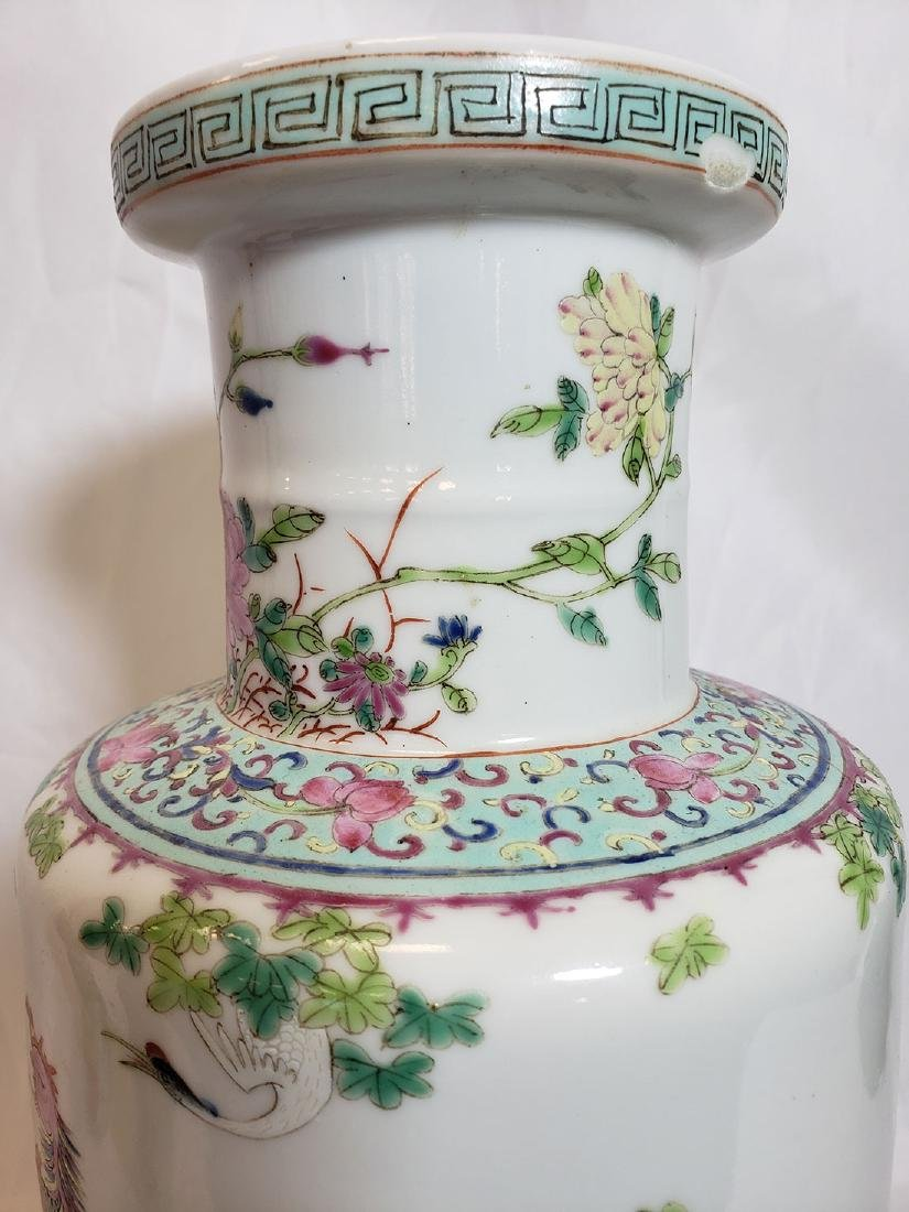 Lot of Chinese porcelain vase and export birds w/ Mark - 5