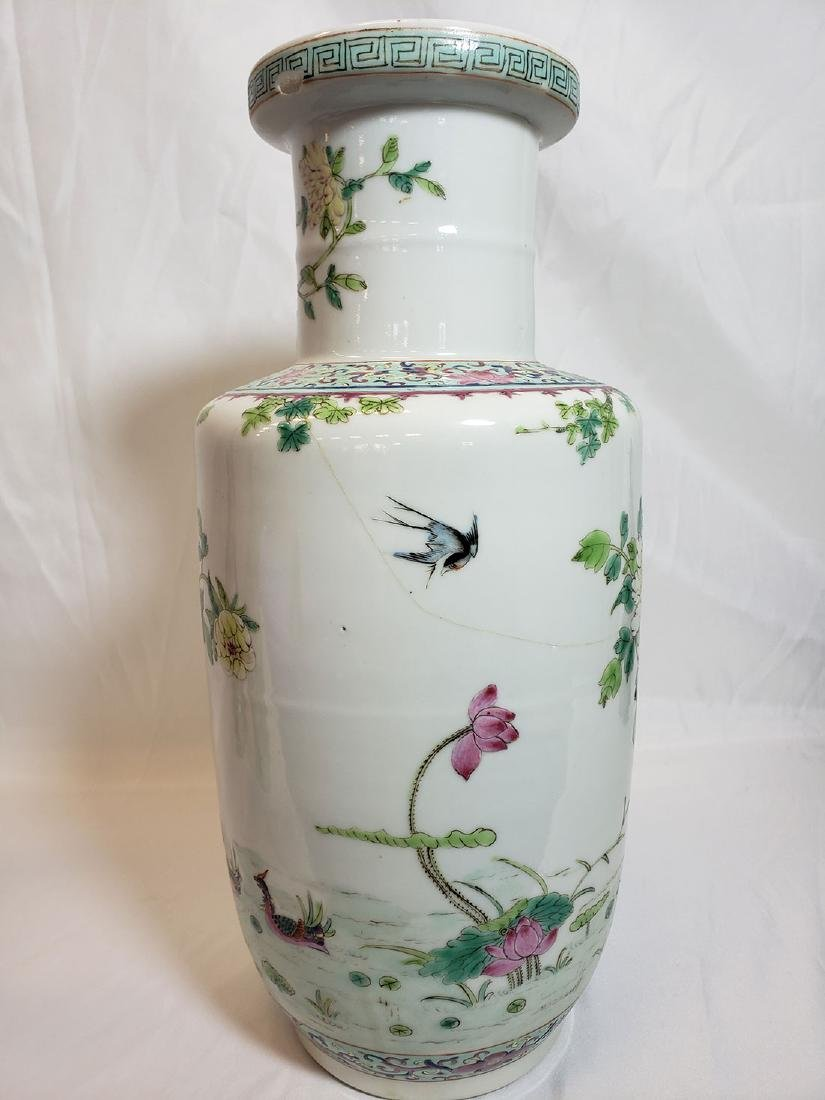 Lot of Chinese porcelain vase and export birds w/ Mark - 6