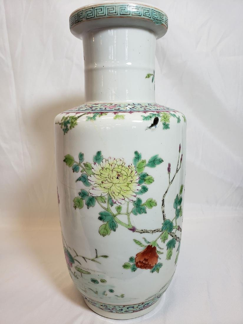 Lot of Chinese porcelain vase and export birds w/ Mark - 7