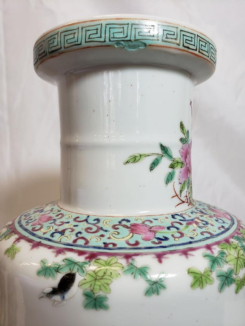 Lot of Chinese porcelain vase and export birds w/ Mark - 8