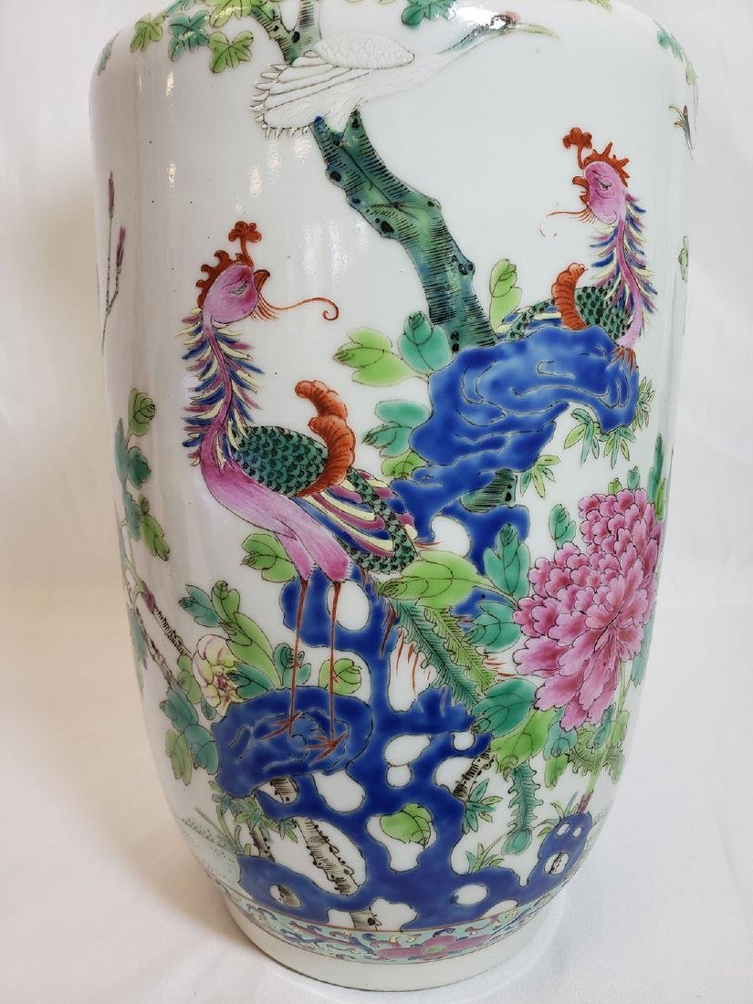 Lot of Chinese porcelain vase and export birds w/ Mark - 9