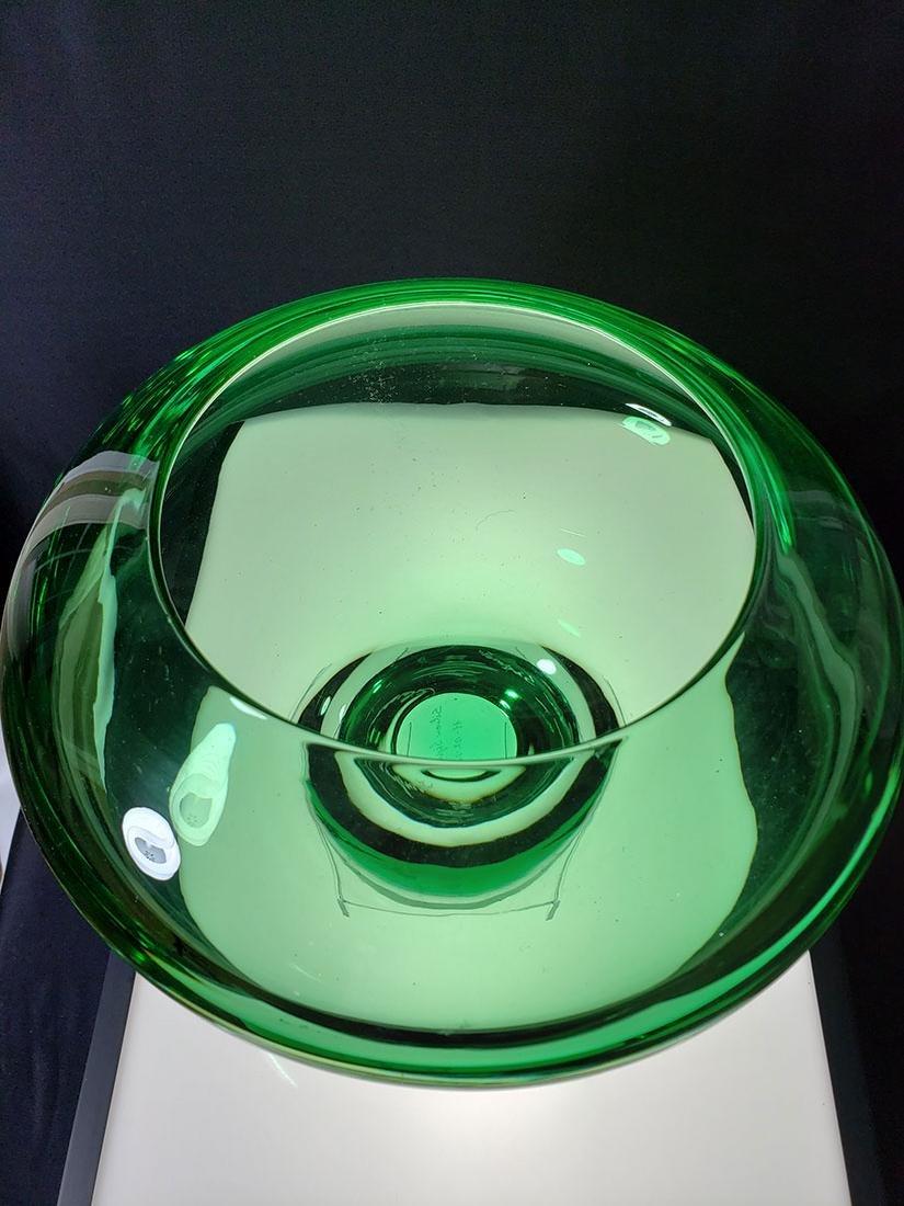 Silvano Signoretto signed Murano art glass vase - 2