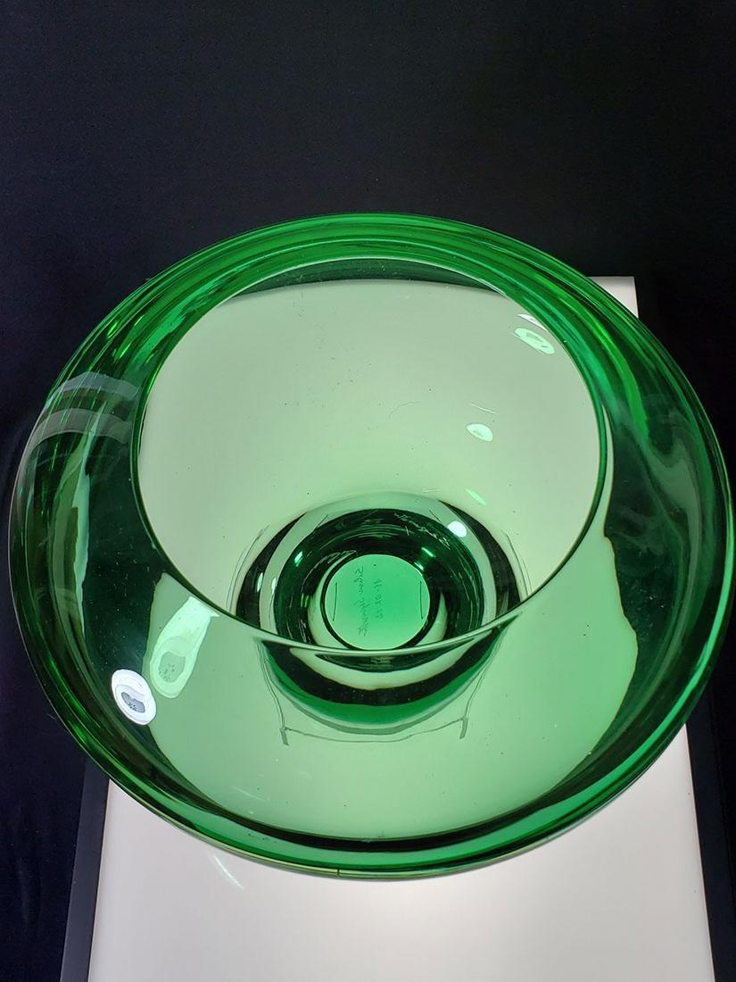 Silvano Signoretto signed Murano art glass vase - 7