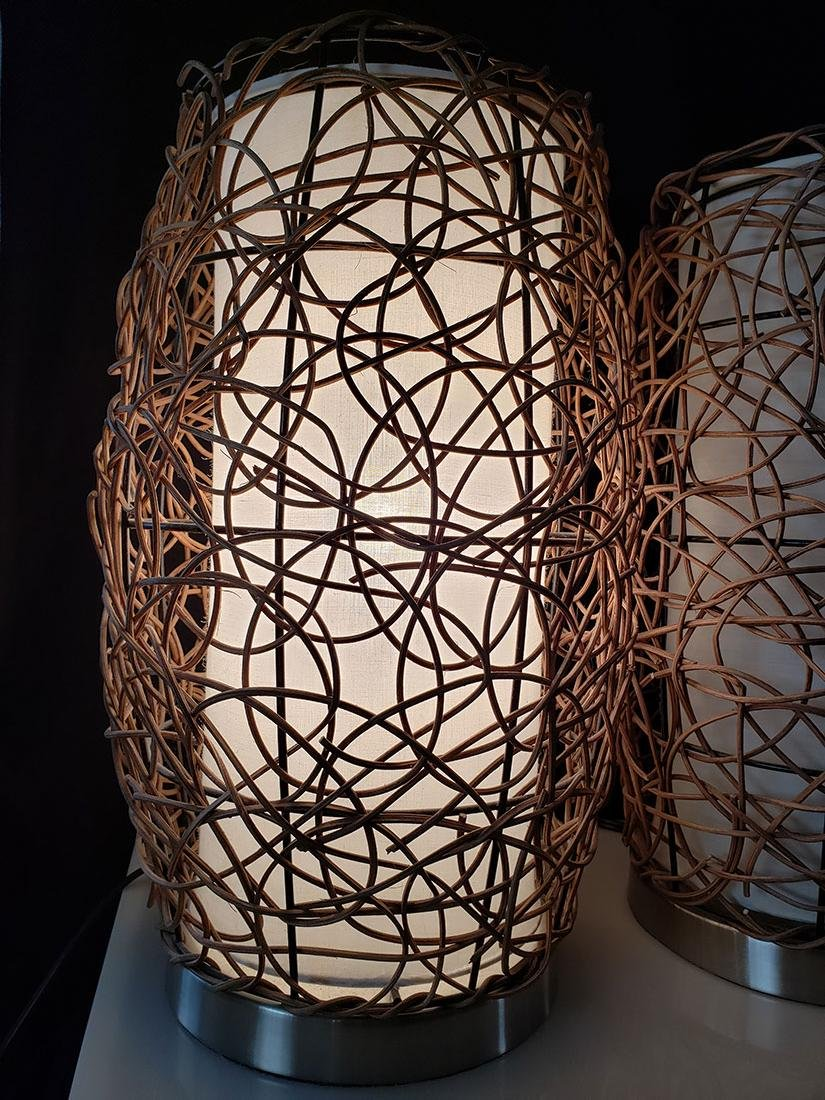 Pair of mid century modern lamps - 3