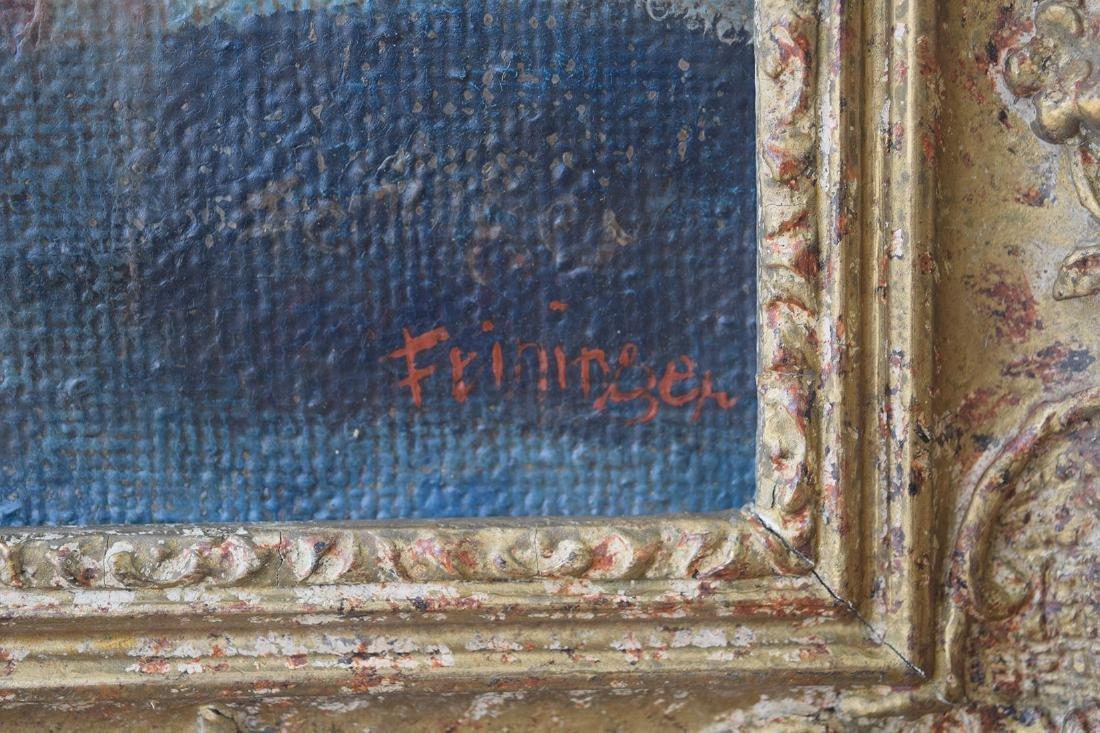 Lyonel Feininger 1871-1956 Cubist Cubism Painting - 11