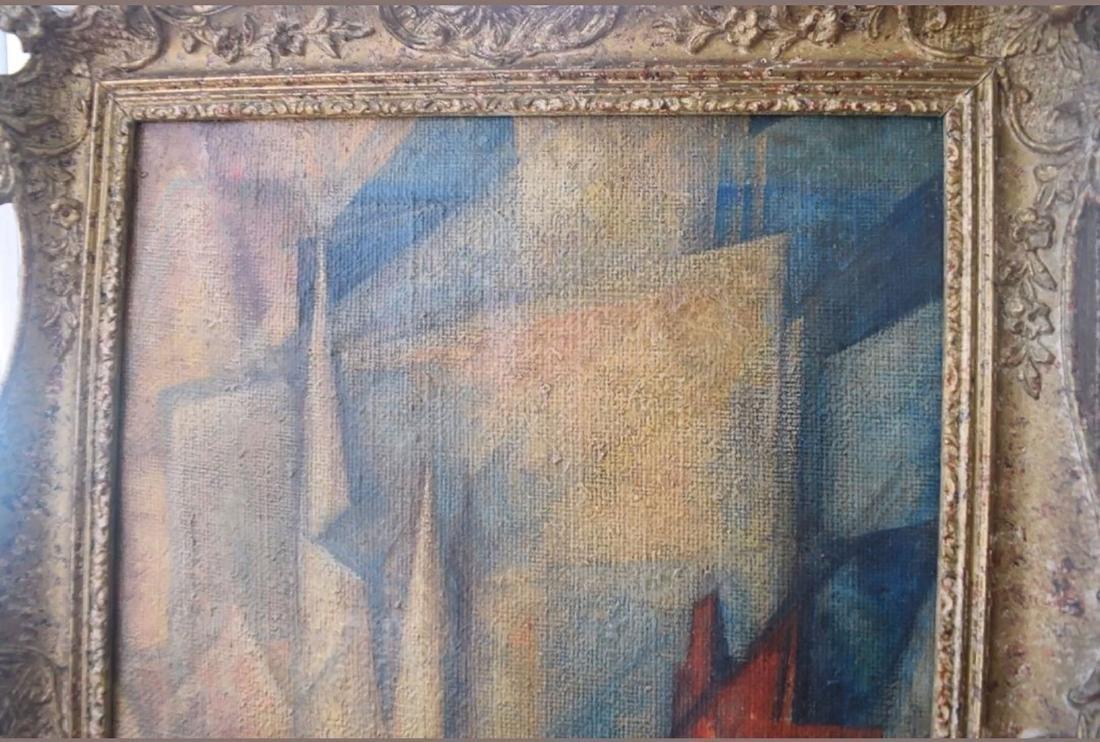 Lyonel Feininger 1871-1956 Cubist Cubism Painting - 5