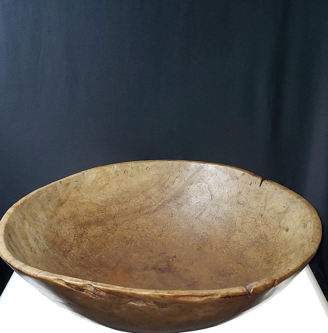 A fine Burled Wood Bowl possibly native