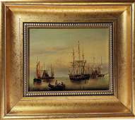 Signed Seascape Painting