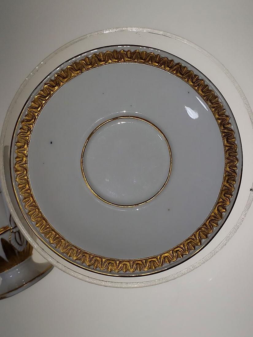 1810-1814 Meissen Teacup & Saucer - 8