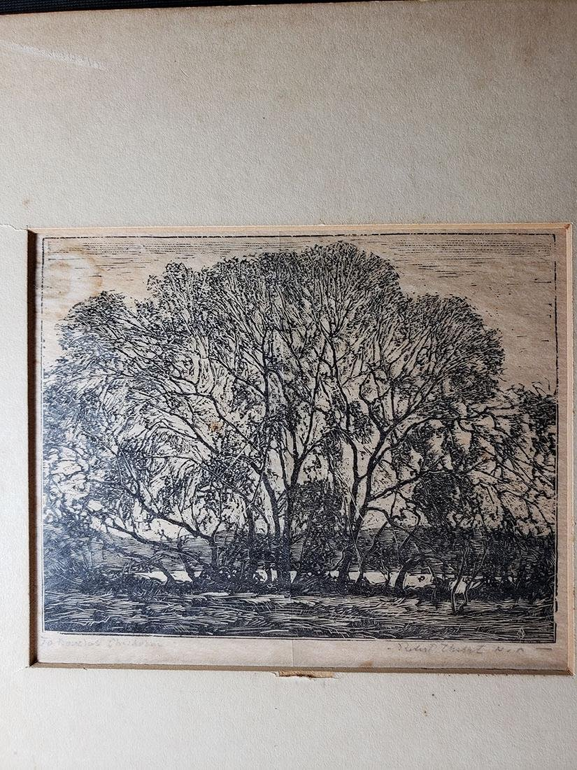 Signed Steel Engraving - 2