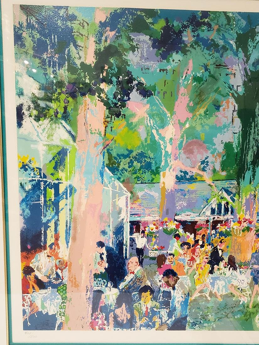 Grouping of Leroy Neiman Serigraph and book Signed - 10