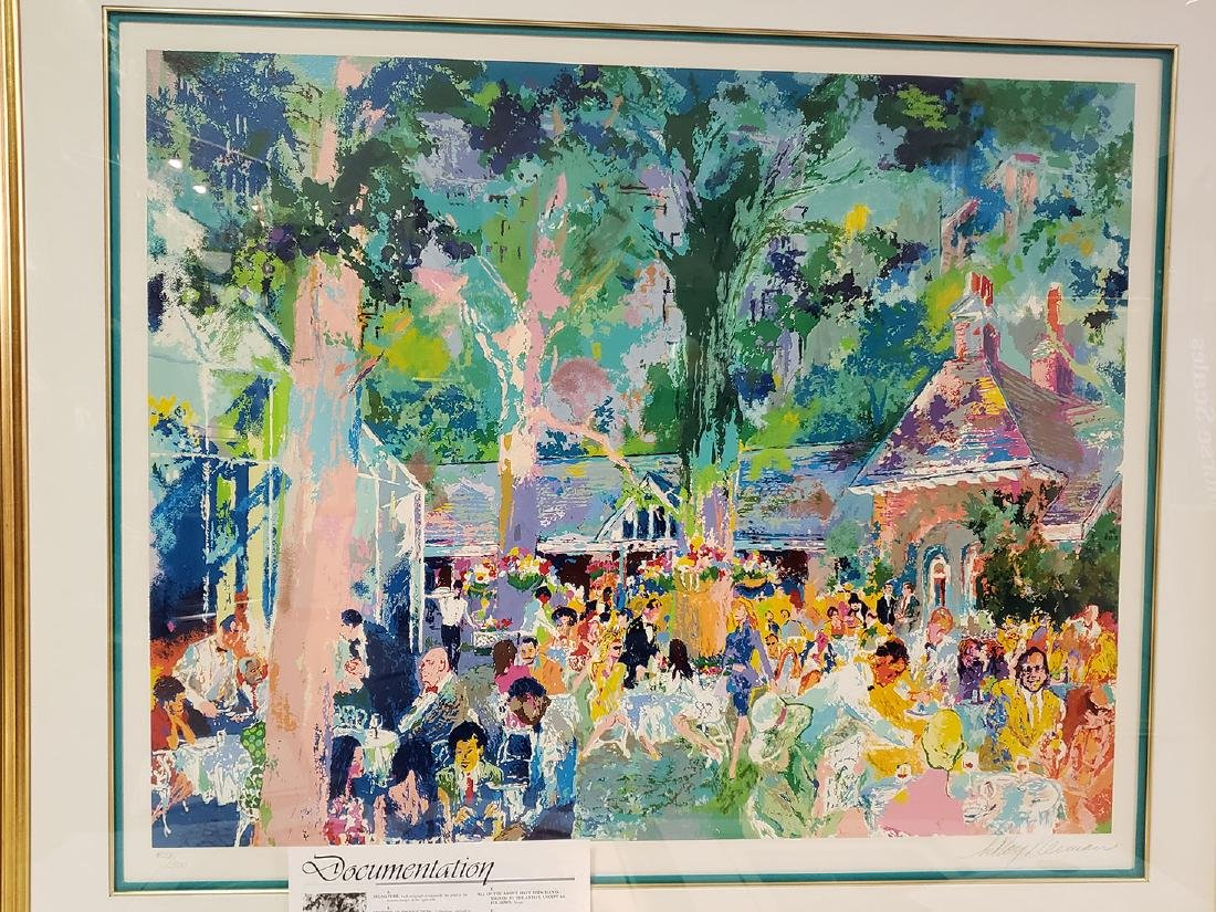 Grouping of Leroy Neiman Serigraph and book Signed - 4