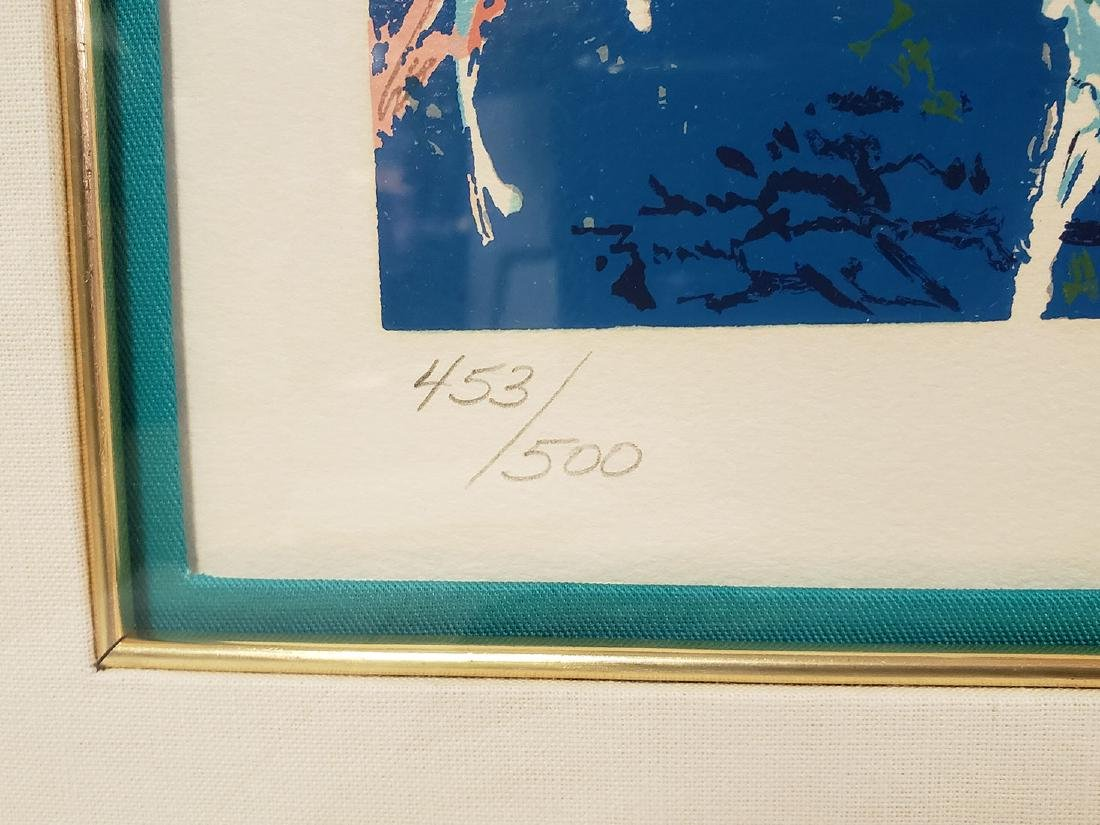 Grouping of Leroy Neiman Serigraph and book Signed - 6