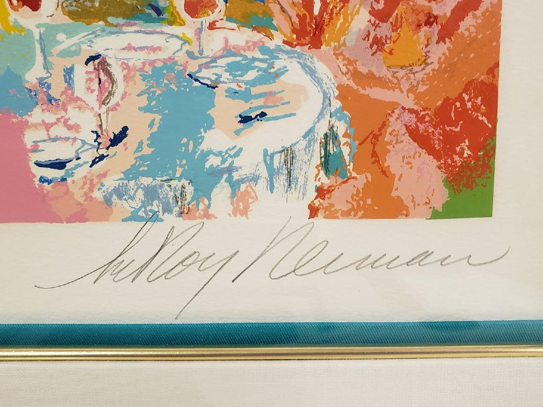 Grouping of Leroy Neiman Serigraph and book Signed - 7